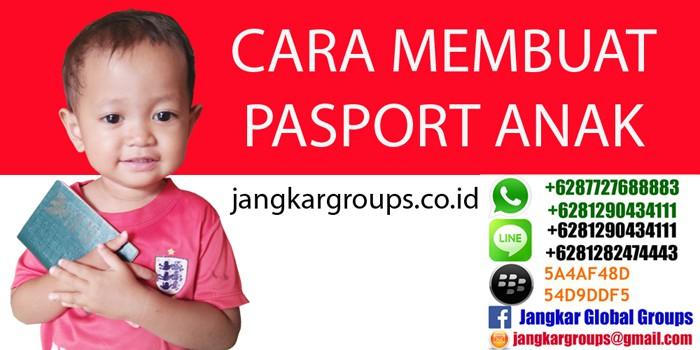 persyaratan pasport anak
