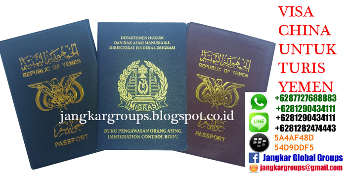 visa china untuk turis yemen