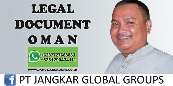 legal document oman