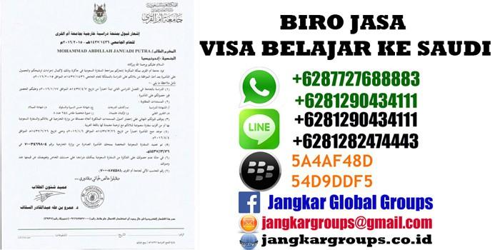 persyaratan visa belajar saudi