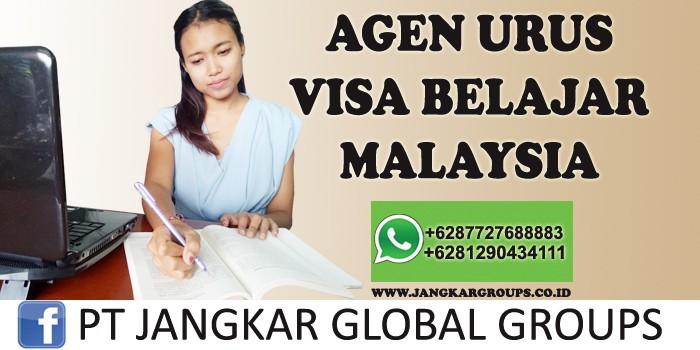 agen urus visa belajar malaysia