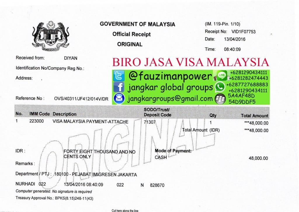 biaya visa pembantu rumah