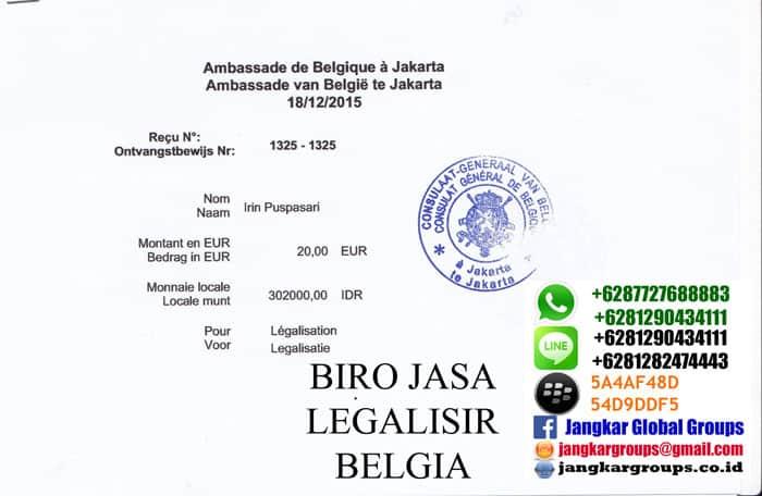 harga-legalisir-belgia