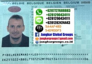 pasport belgia