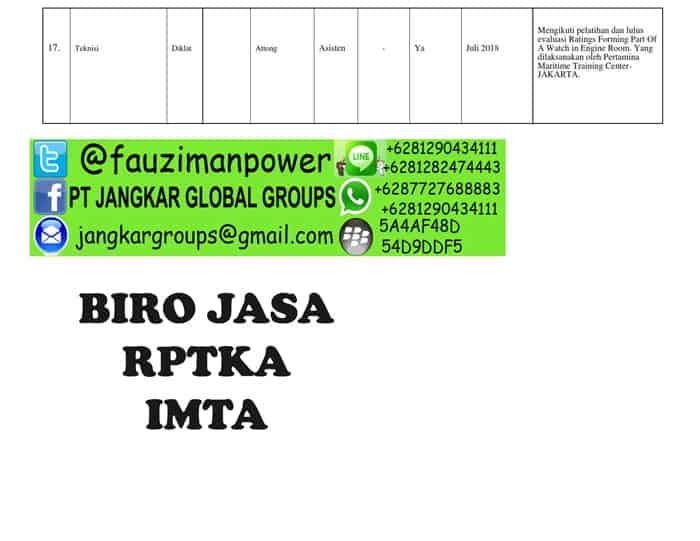 uraian dan jabatan Form RPTKA_008