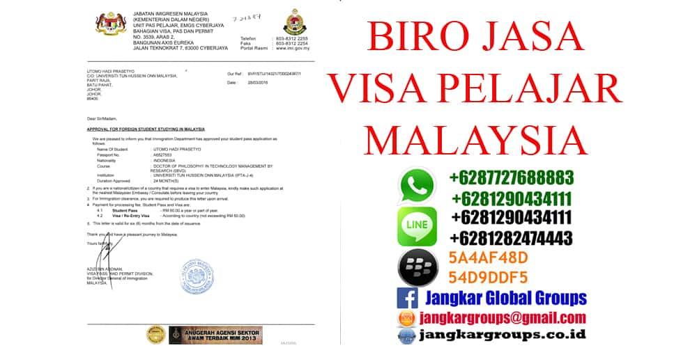 persyaratan visa belajar malaysia