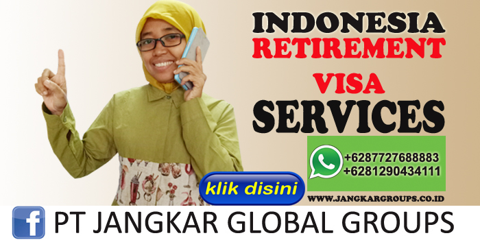 indonesia retirement visa services