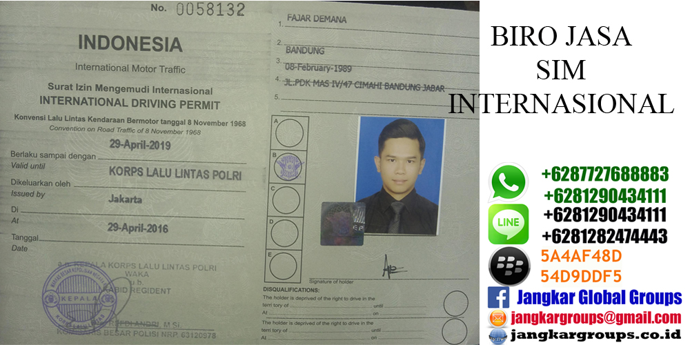 Persyaratan Sim Internasional Jangkar Global Groups