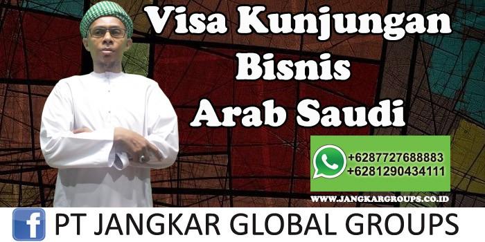 Visa Kunjungan Bisnis Arab Saudi