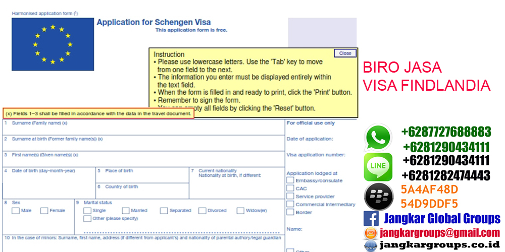 Persyaratan Visa Finlandia Jangkar Global Groups