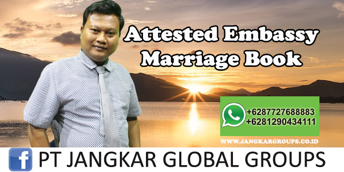 Attested Embassy Marriage Book