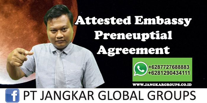 Attested Embassy Preneuptial Agreement