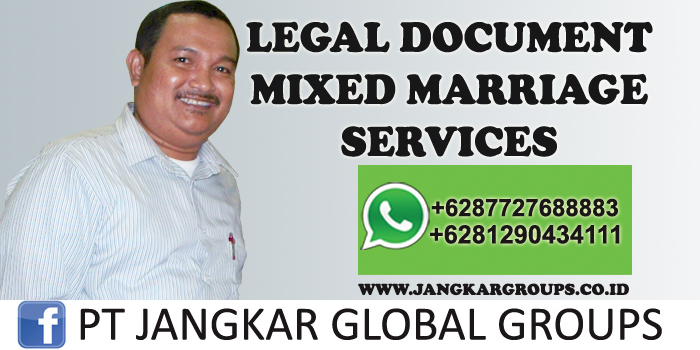 legal document mixed marriage services