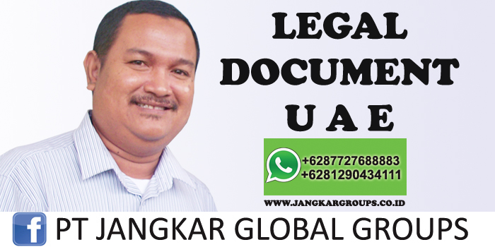 legal document uae