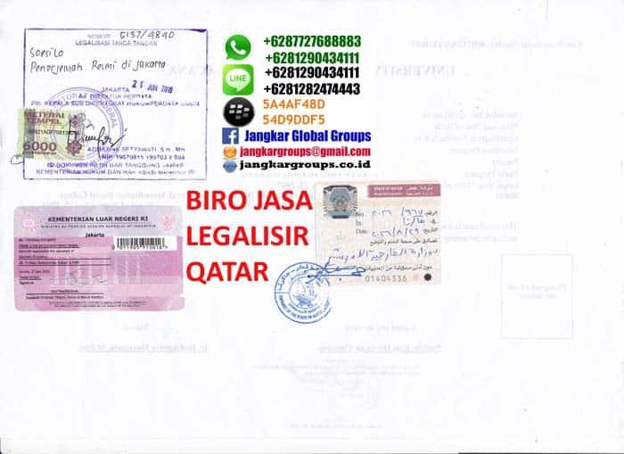 legalisir ijazah di kedutaan qatar