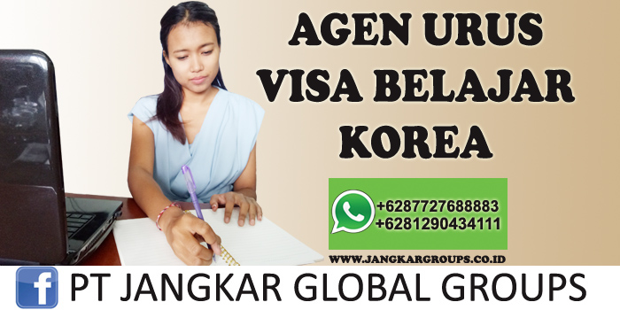agen urus visa belajar korea