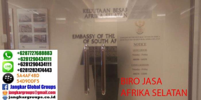 kedutaan afrika selatan