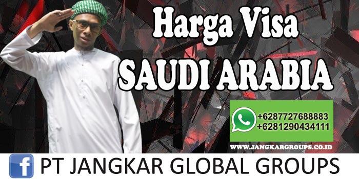 Harga visa saudi arabia