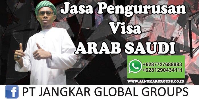 Jasa Pengurusan Visa Arab Saudi