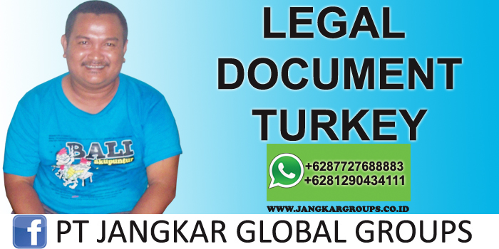 legal document turkey