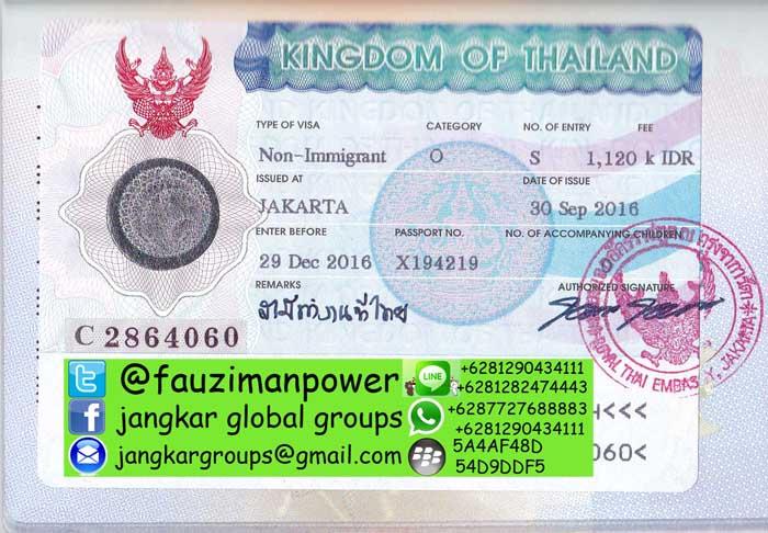 visa ikut suami ke thailand