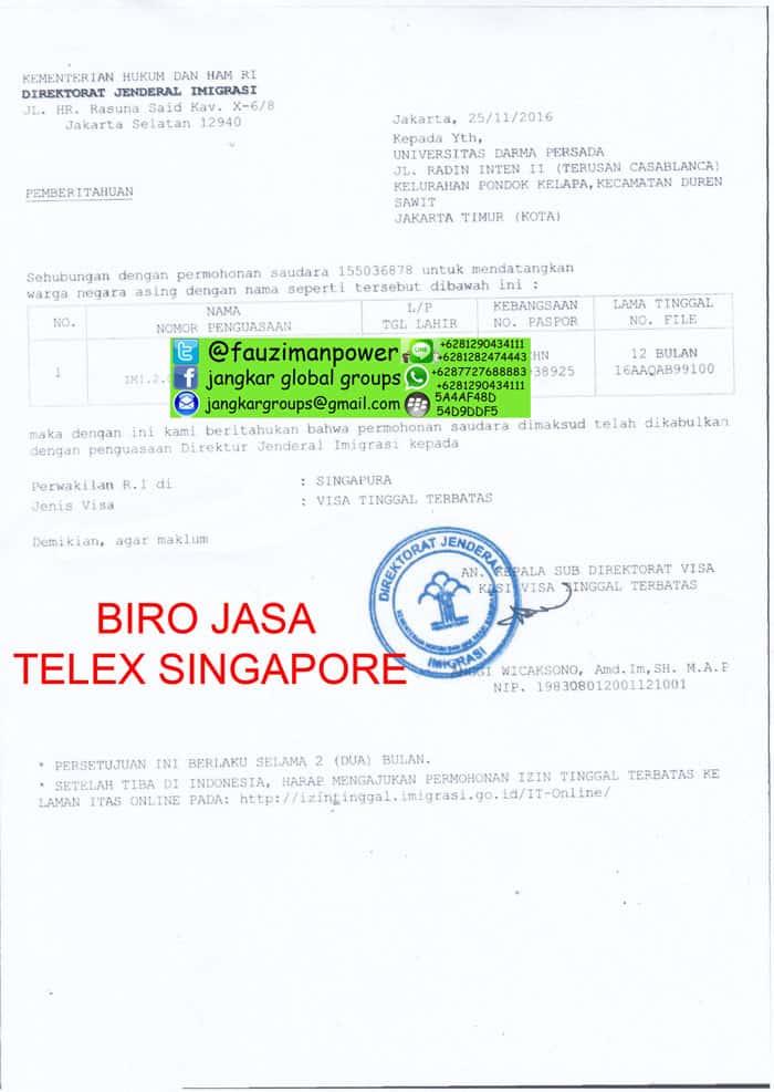 VISA SINGAPORE UNTUK WARGA CHINA - Jangkar Global Groups