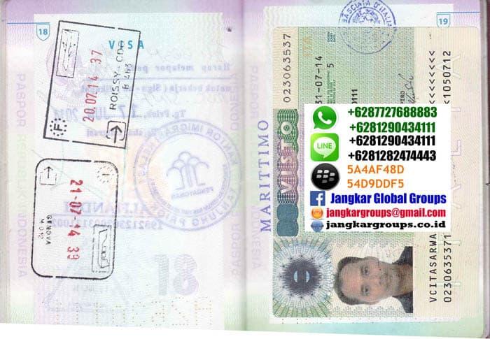 VISA ITALIA - jasa pengurusan visa