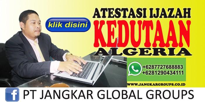 atestasi ijazah kedutaan algeria