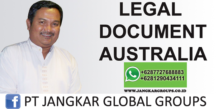 legal document australia