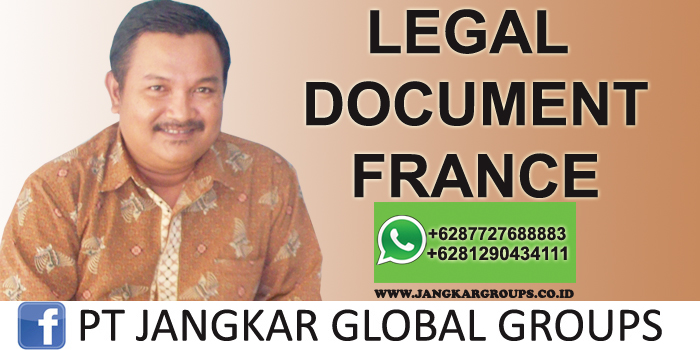 legal document france