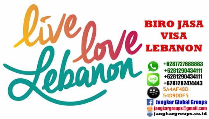 persyaratan visa libanon di jakarta