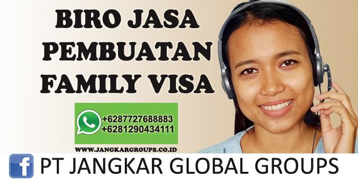pembuatan family visa