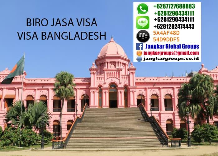 persyaratan visa turis ke bangladesh