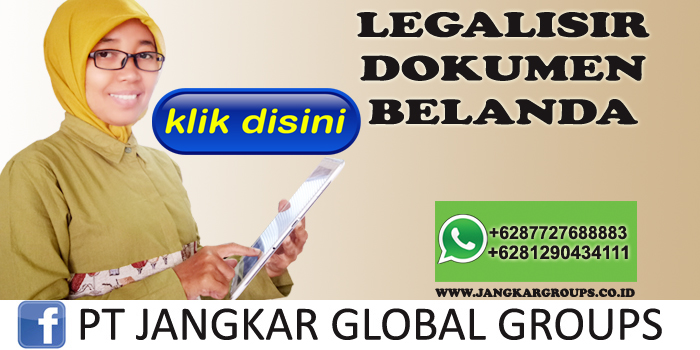 legalisir dokumen belanda