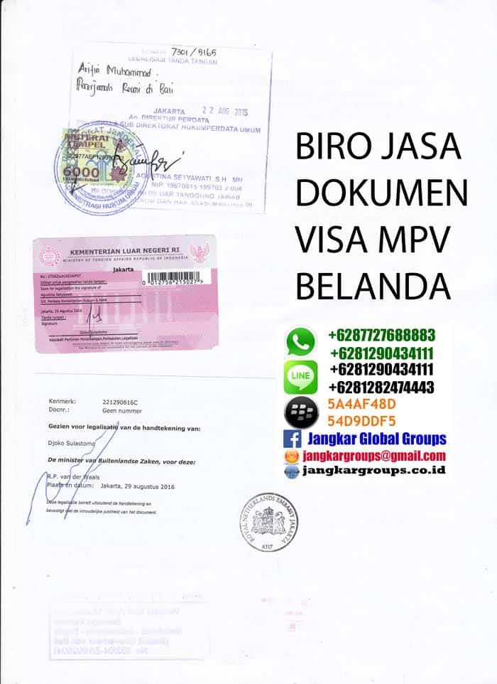 legalisir skbm di kedutaan belanda