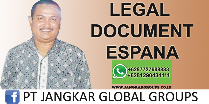 legal document espana