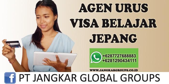 agen urus visa belajar jepang