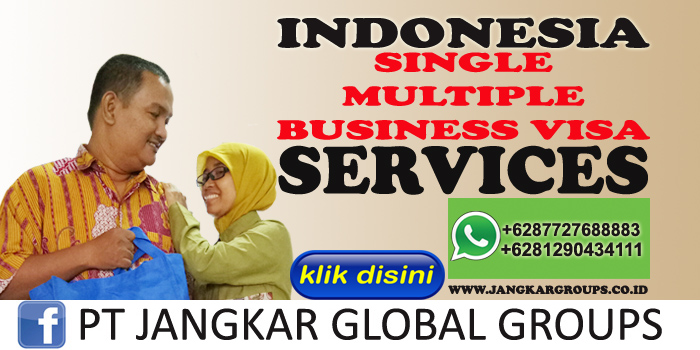 indonesia single multiple business visa services
