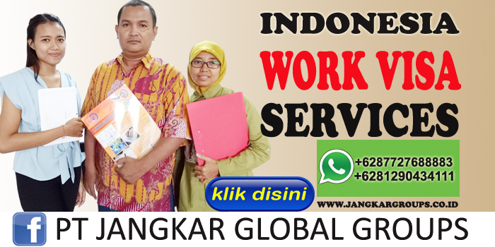 indonesia work visa services
