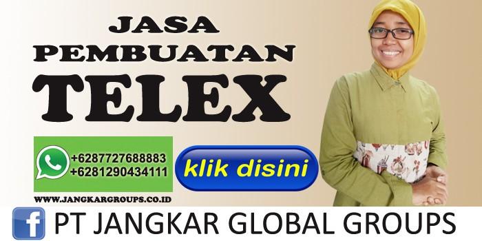 jasa pembuatan telex