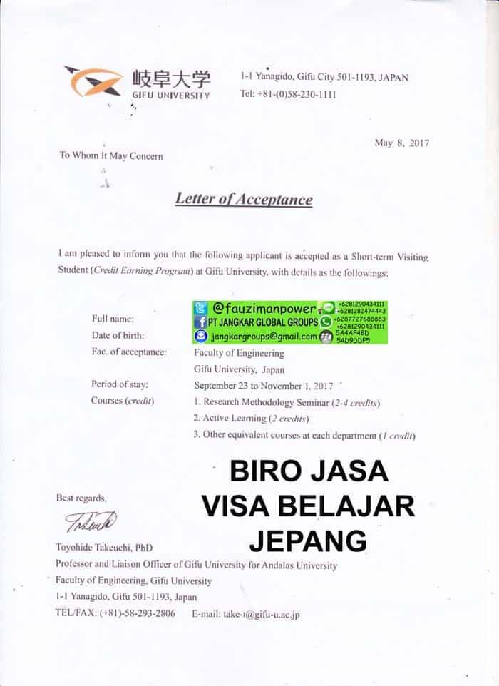 PERSYARATAN VISA BELAJAR KE JEPANG - Jangkar Groups | Jasa