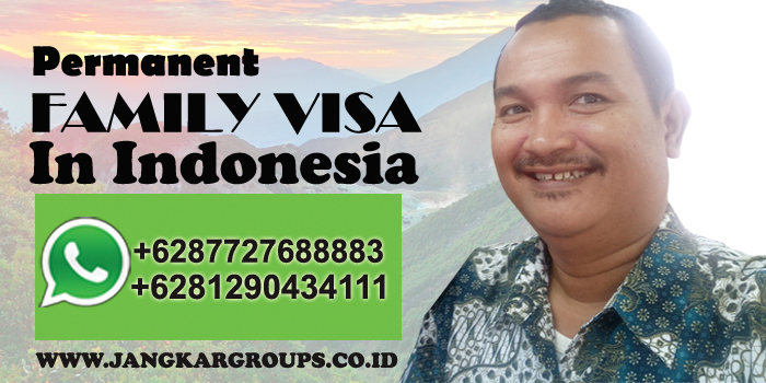 permanent visa indonesia