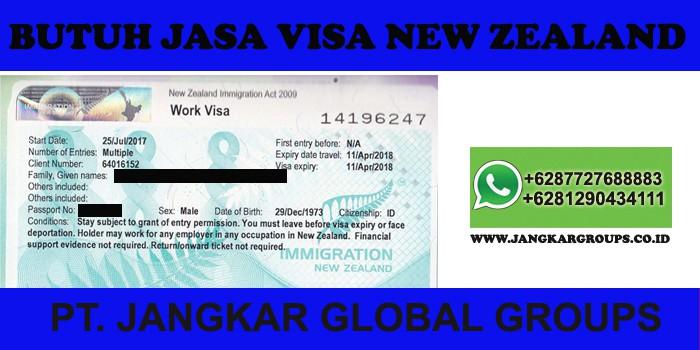 persyaratan visa kerja new zealand