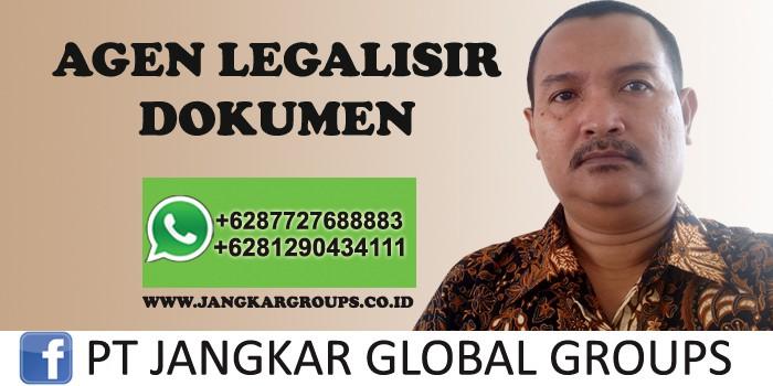 agen legalisir dokumen dan visa