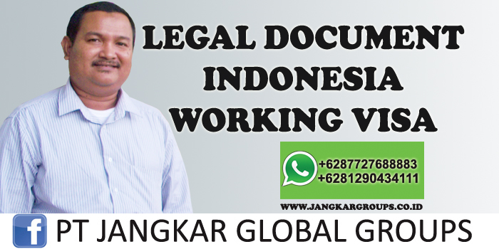 legal document indonesia working visa