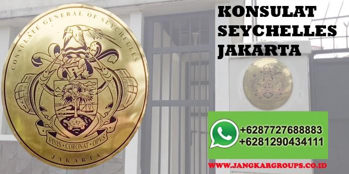 legalisir di consulate general of seychelles jakarta