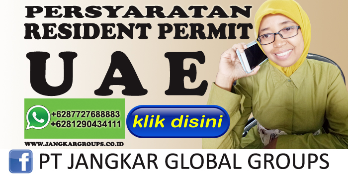 persyaratan resident permit uae