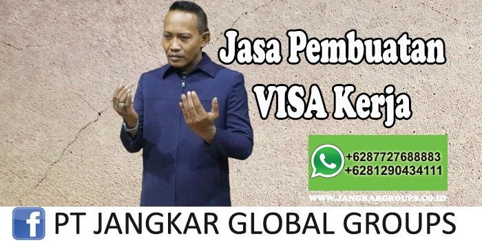 Jasa Pembuatan Visa Kerja