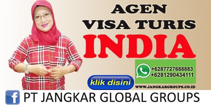 agen visa turis india
