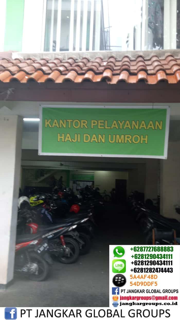 kantor pelayanan haji dan umroh